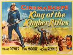 King of the Khyber Rifles 1953 DVD - Tyrone Power / Terry Moore